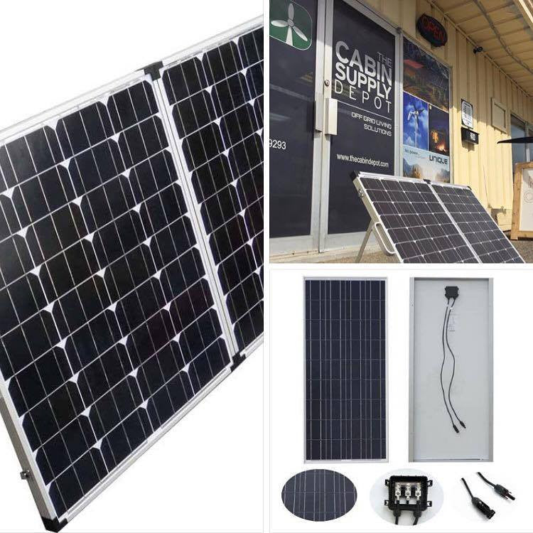 SOLAR PANELS - Perfect for the camp, cabin, or RV!