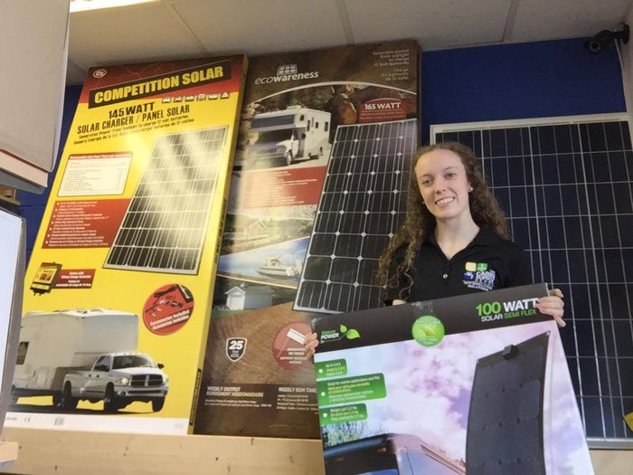 New Solar Panels in Stock!