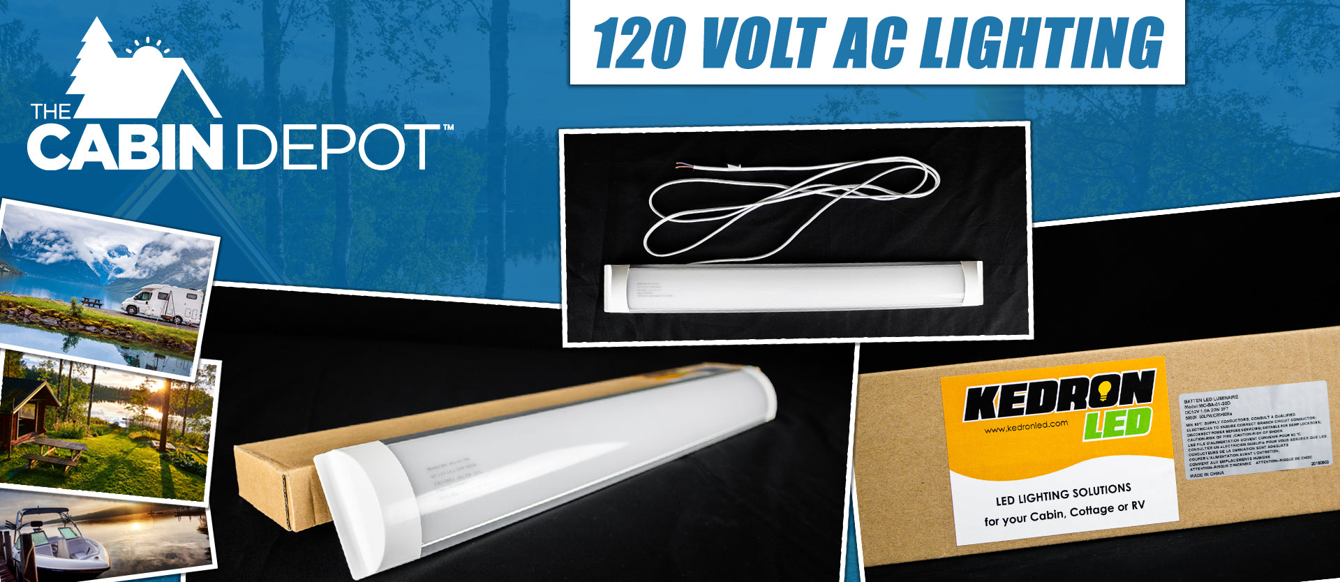 120 Volt LED Lighting Off Grid The Cabin Depot ™ Canada