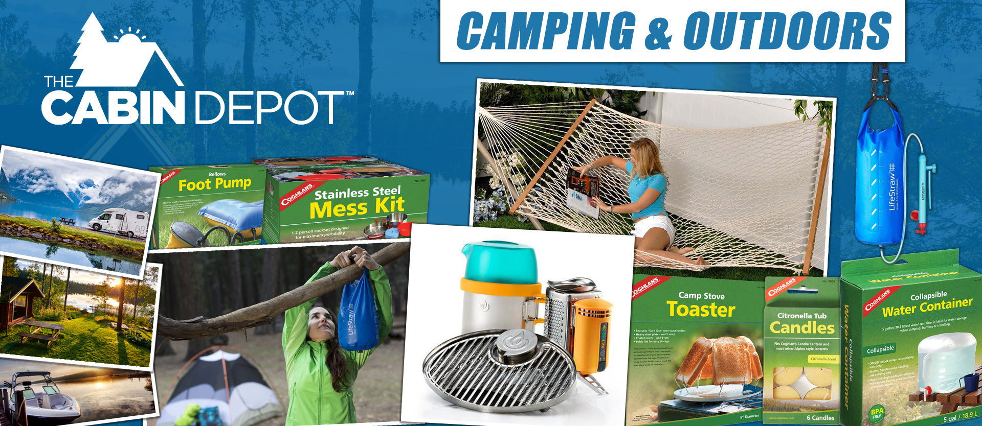Camping Outdoors The Cabin Depot ™ Canada