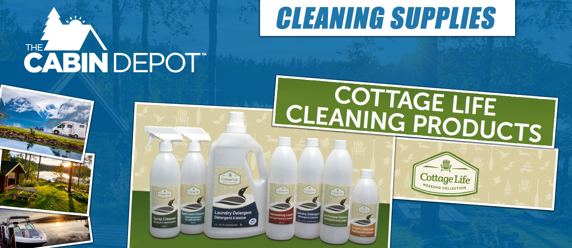 Cleaning Supplies The Cabin Depot ™ Canada