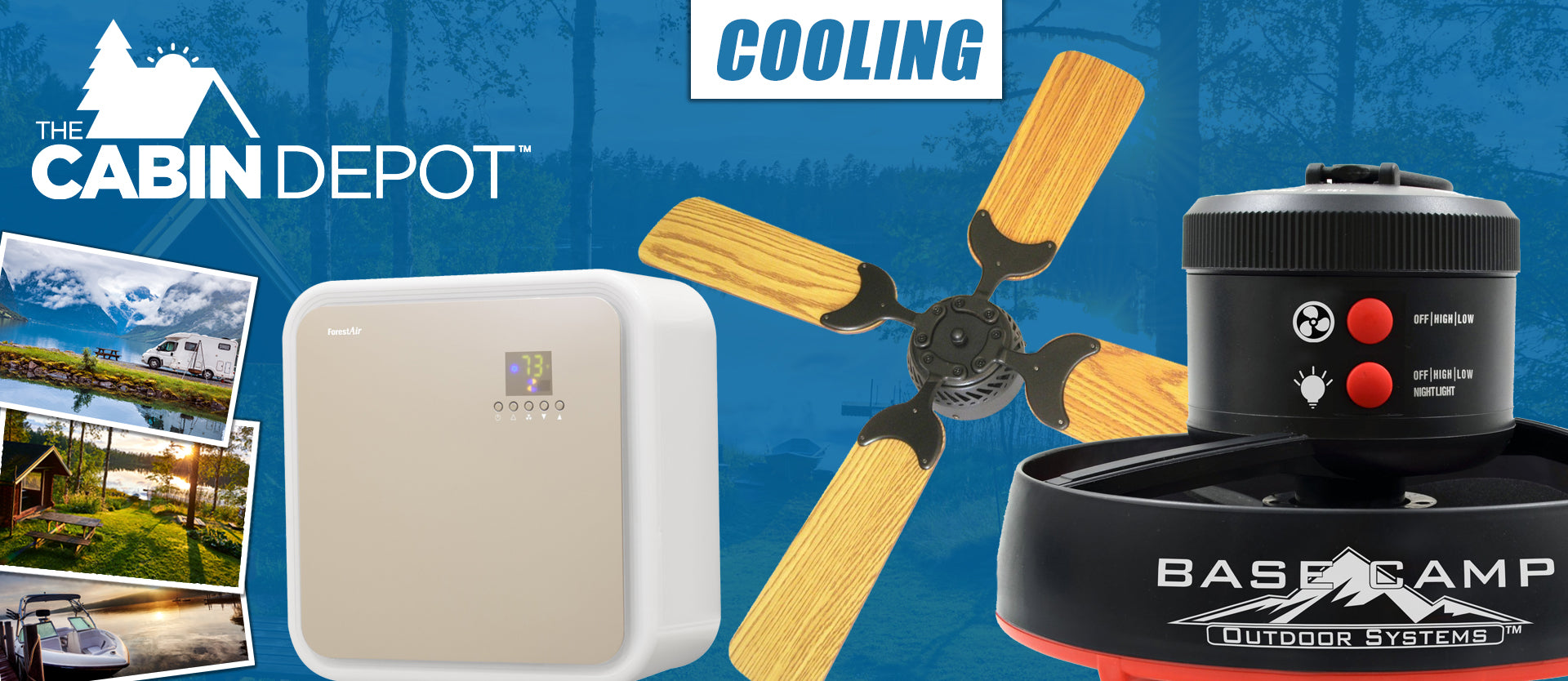 Cooling Fans The Cabin Depot ™ Canada