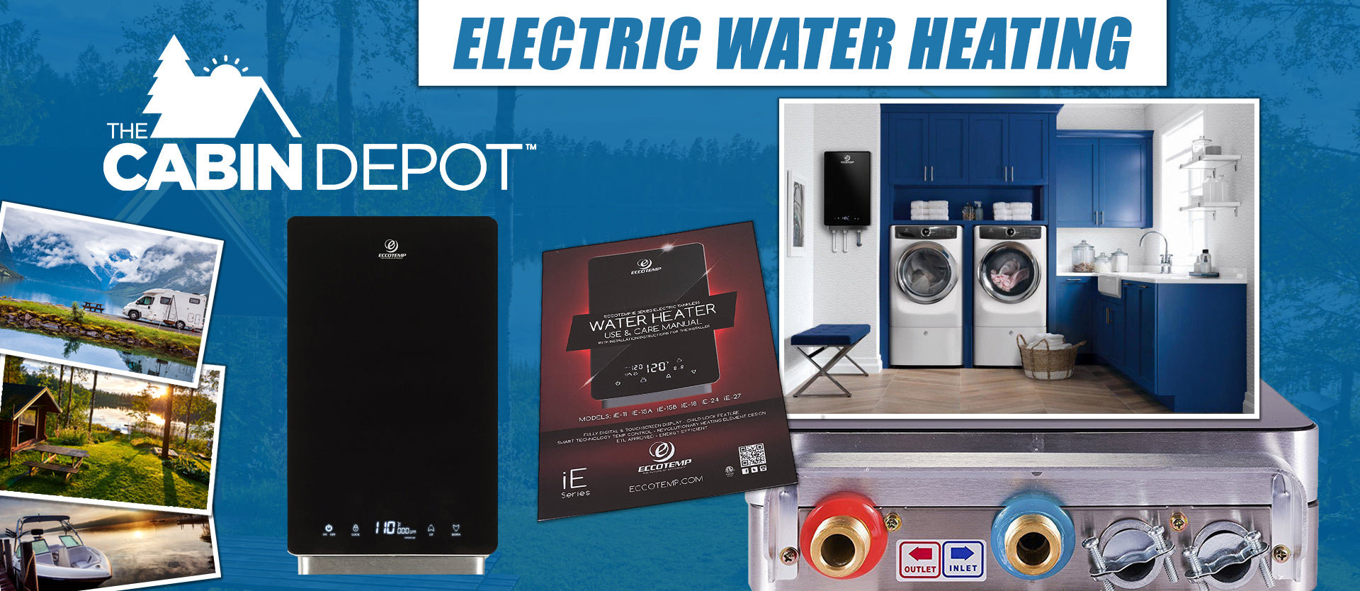 Electric Water Heating The Cabin Depot ™ Canada