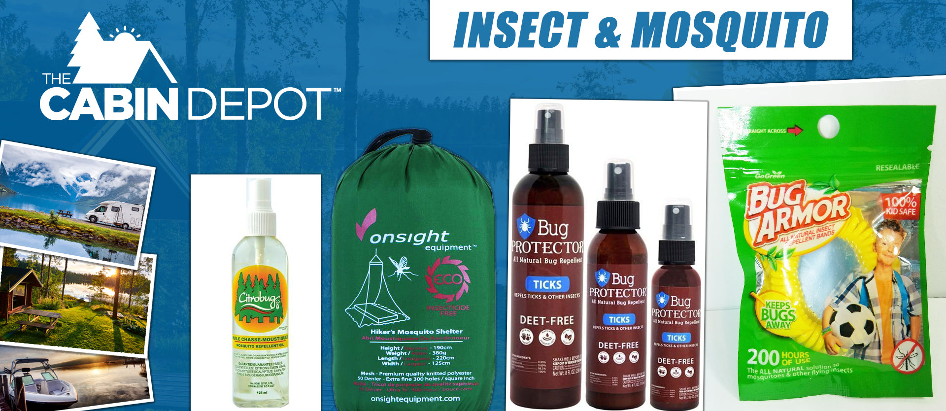 Mosquito Insect Control The Cabin Depot™