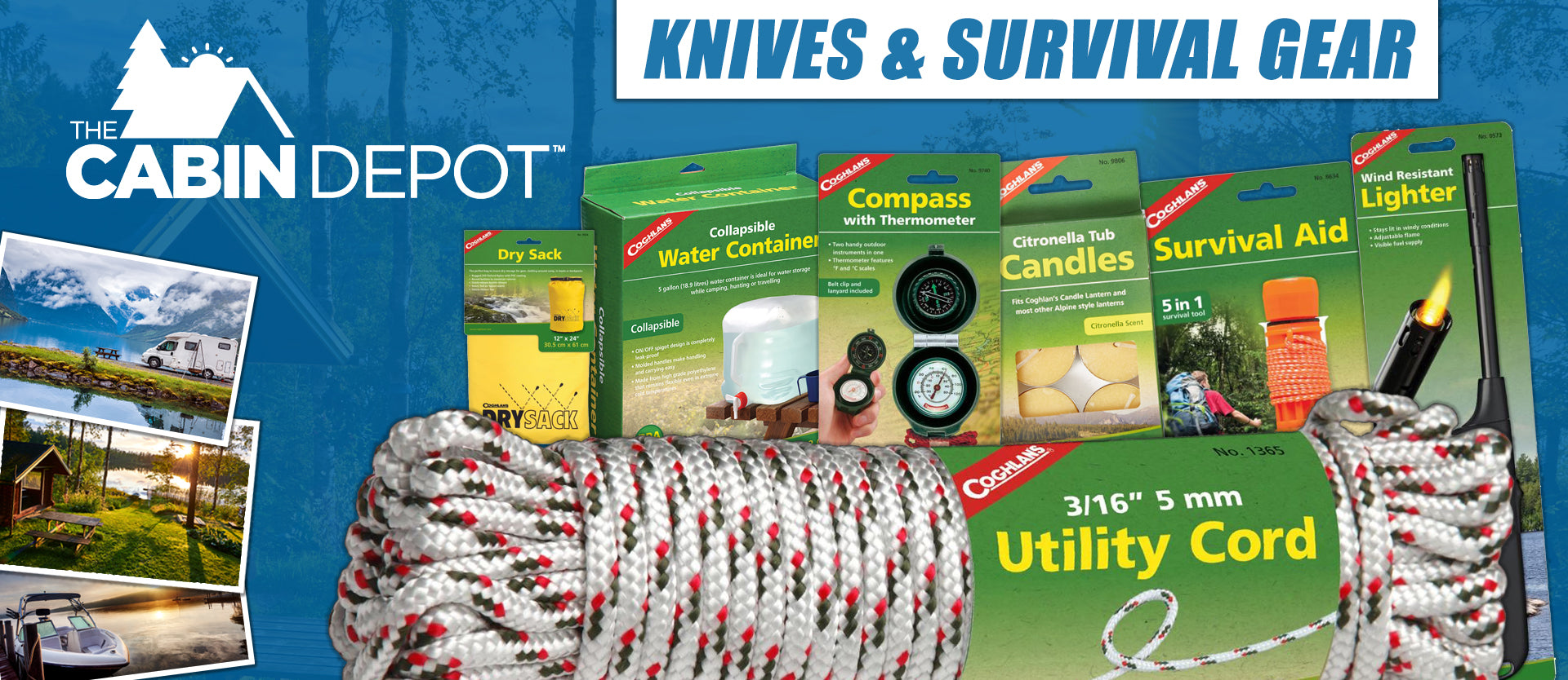 Knives Survival Gear Camping Off Grid The Cabin Depot ™ Canada