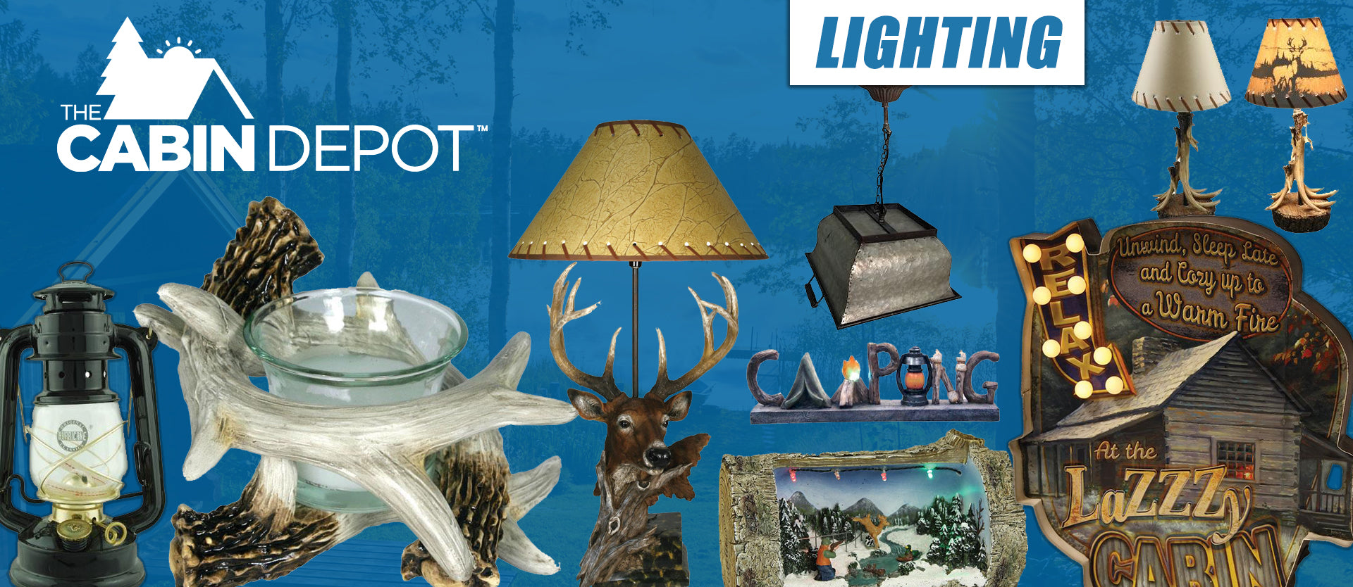 Lighting Decor Cabin Off Grid The Cabin Depot ™ Canada