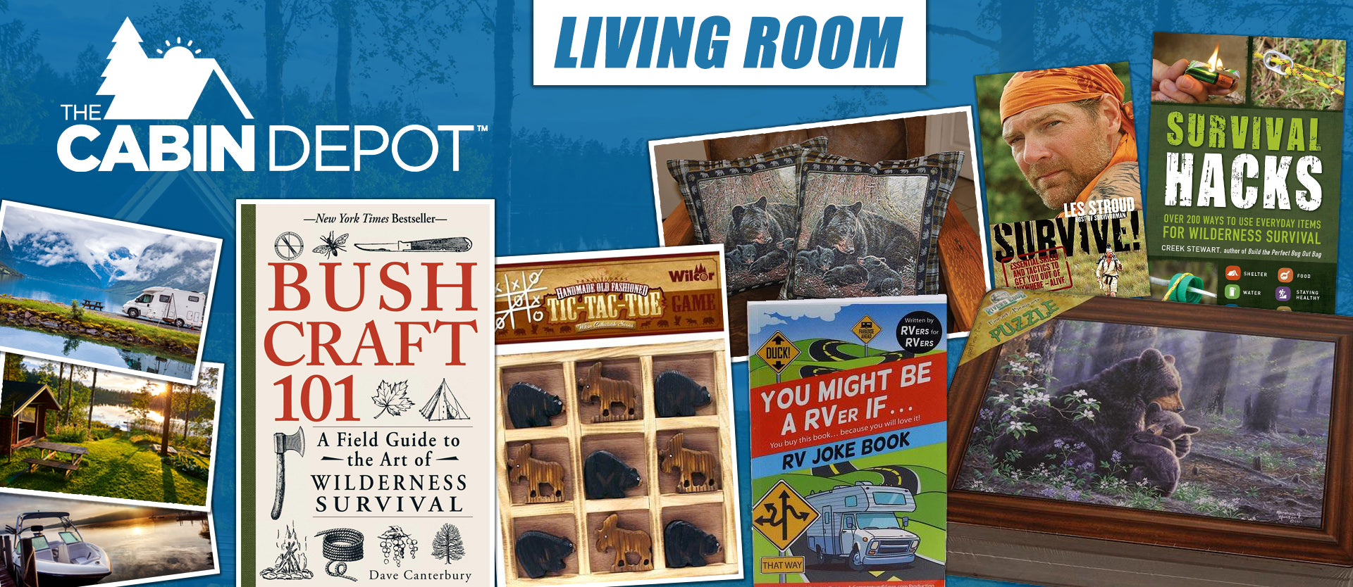 Living Room Decor Off Grid Cabin The Cabin Depot ™ Canada