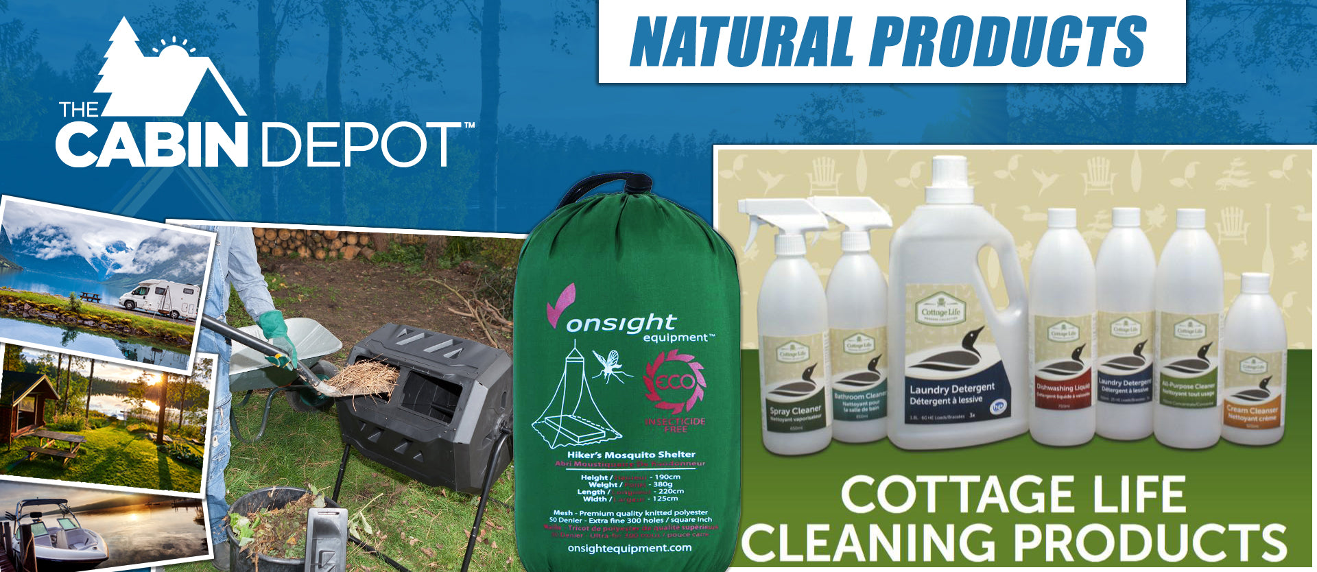 Natural Products The Cabin Depot ™ Canada