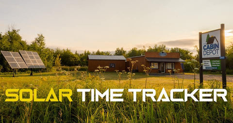 Solar Time Tracker Canada - The Cabin Depot Ltd.