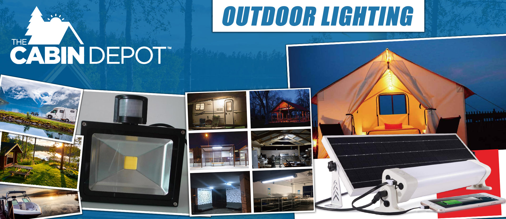 Outdoor Lighting Off Grid The Cabin Depot ™ Canada