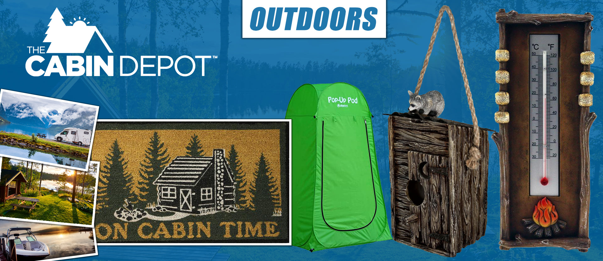 Outdoors Decor Off Grid The Cabin Depot ™ Canada