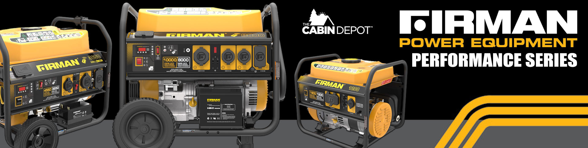 Firman Generator Performance The Cabin Depot ™ Canada