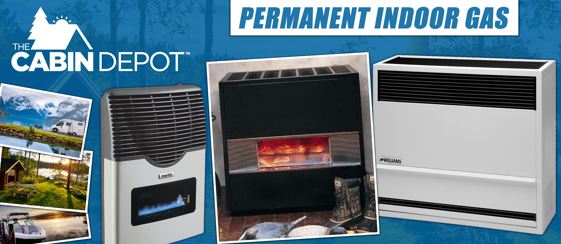 Indoor Gas Propane The Cabin Depot ™ Canada