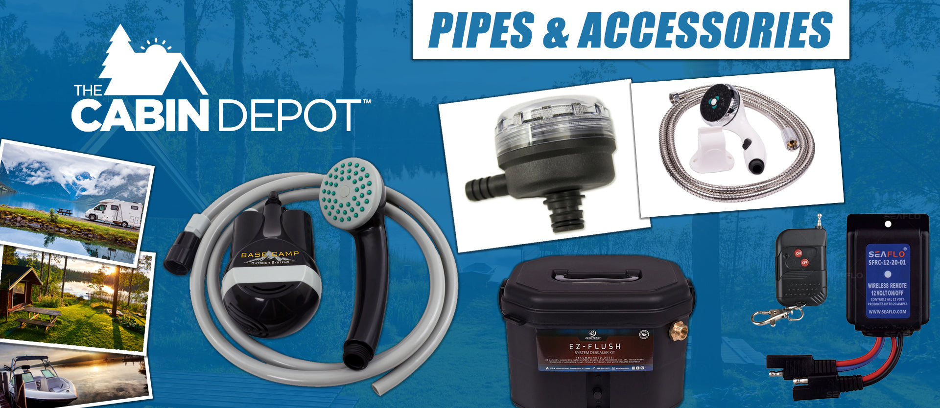 Pipes & Accessories The Cabin Depot ™ Canada