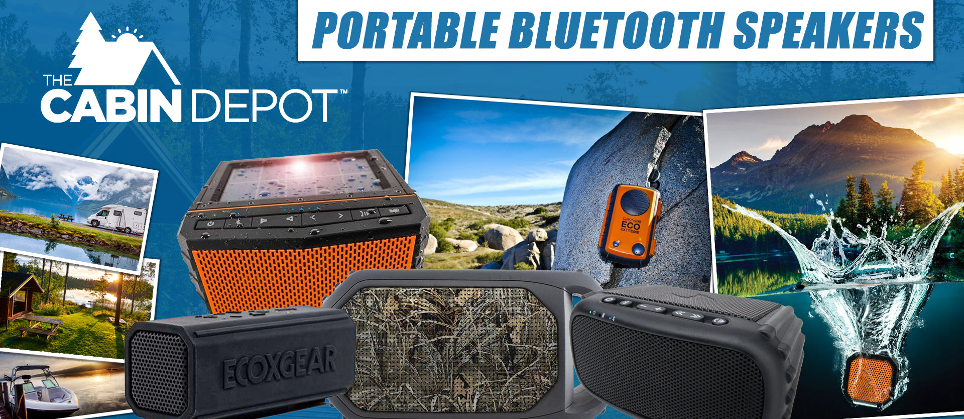 Portable Bluetooth Speaker The Cabin Depot ™ Canada