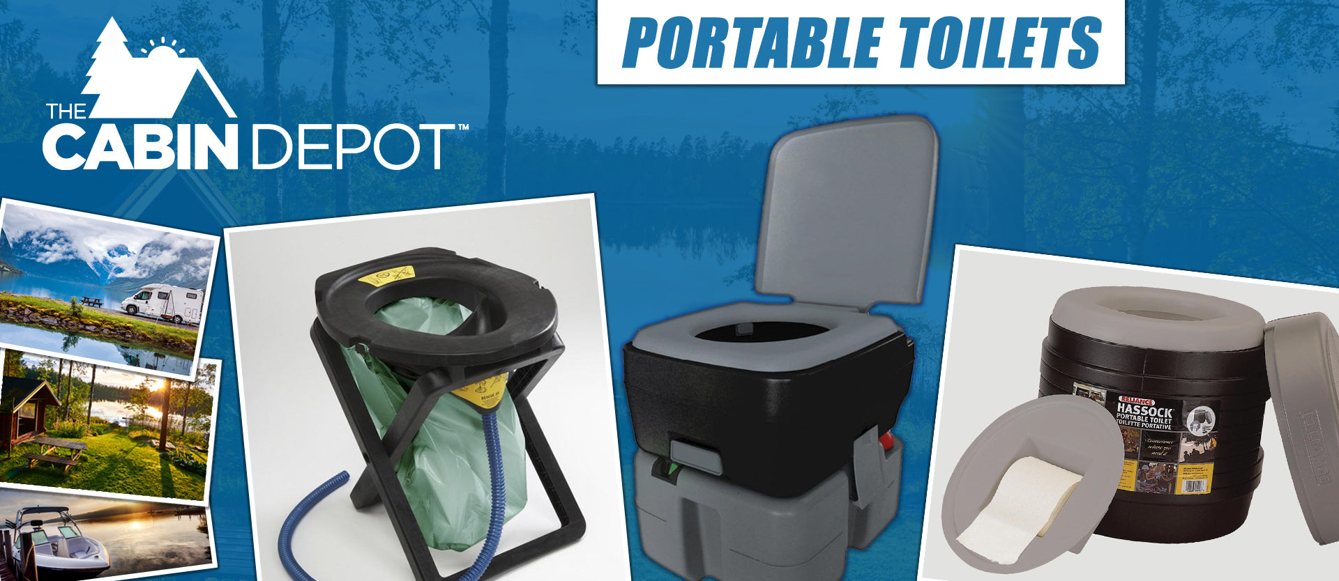 Portable Toilets The Cabin Depot ™ Canada
