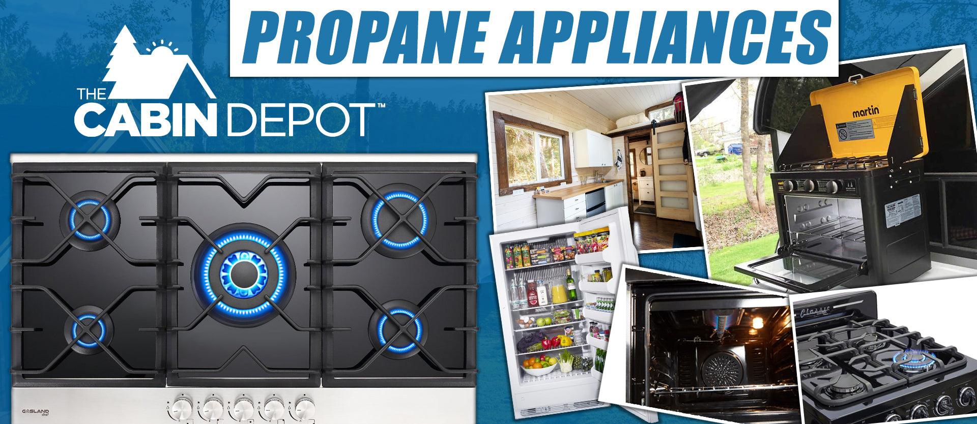 Propane Off-Grid Canada Appliances The Cabin Depot™ 1-844-603-4743