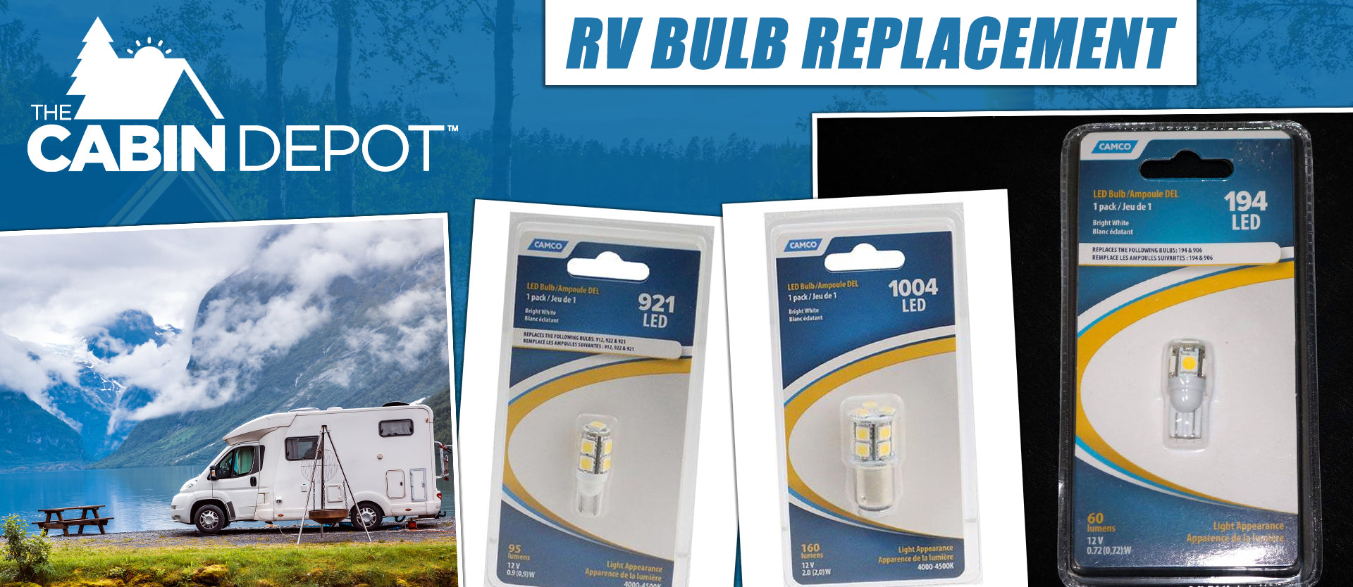 RV Bulb Replacement The Cabin Depot ™ Canada
