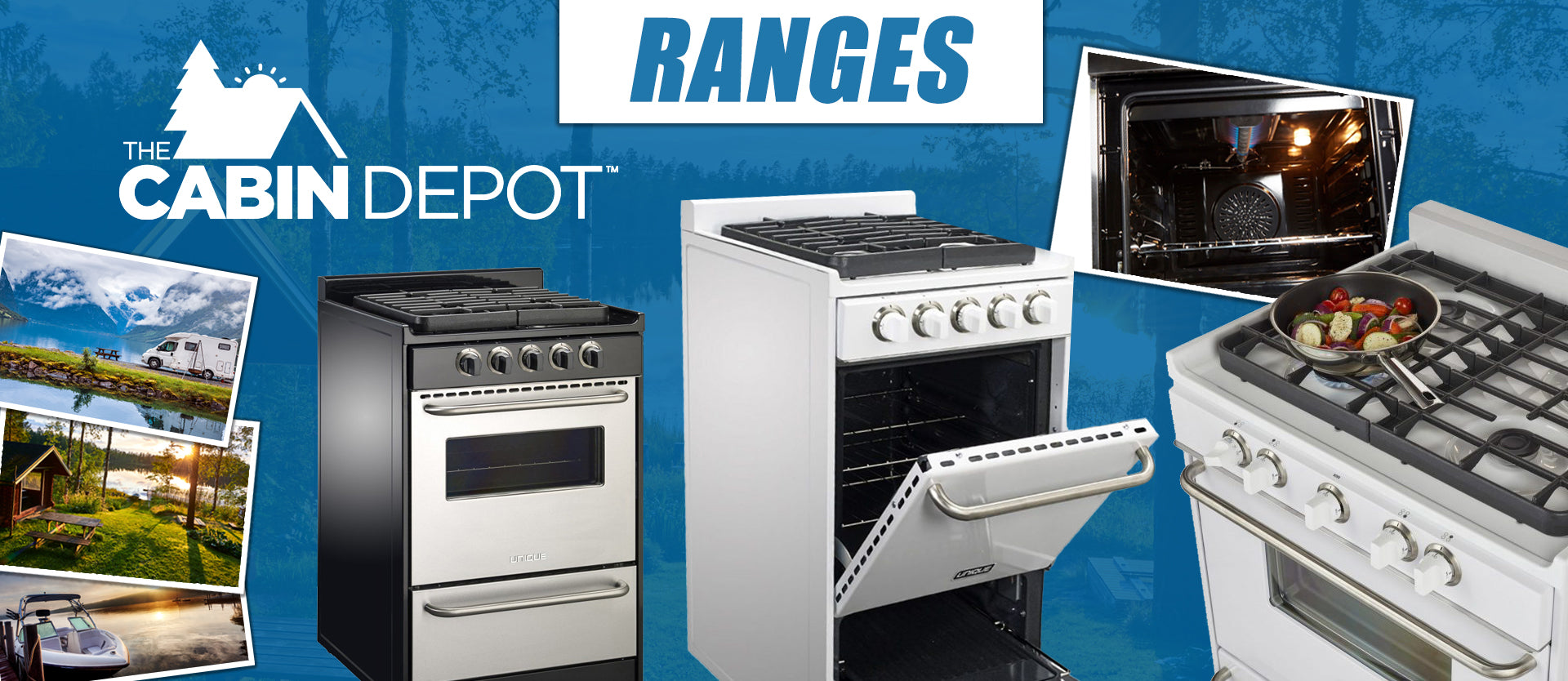 Propane Ranges Stoves Canada The Cabin Depot™ 1-844-603-4743