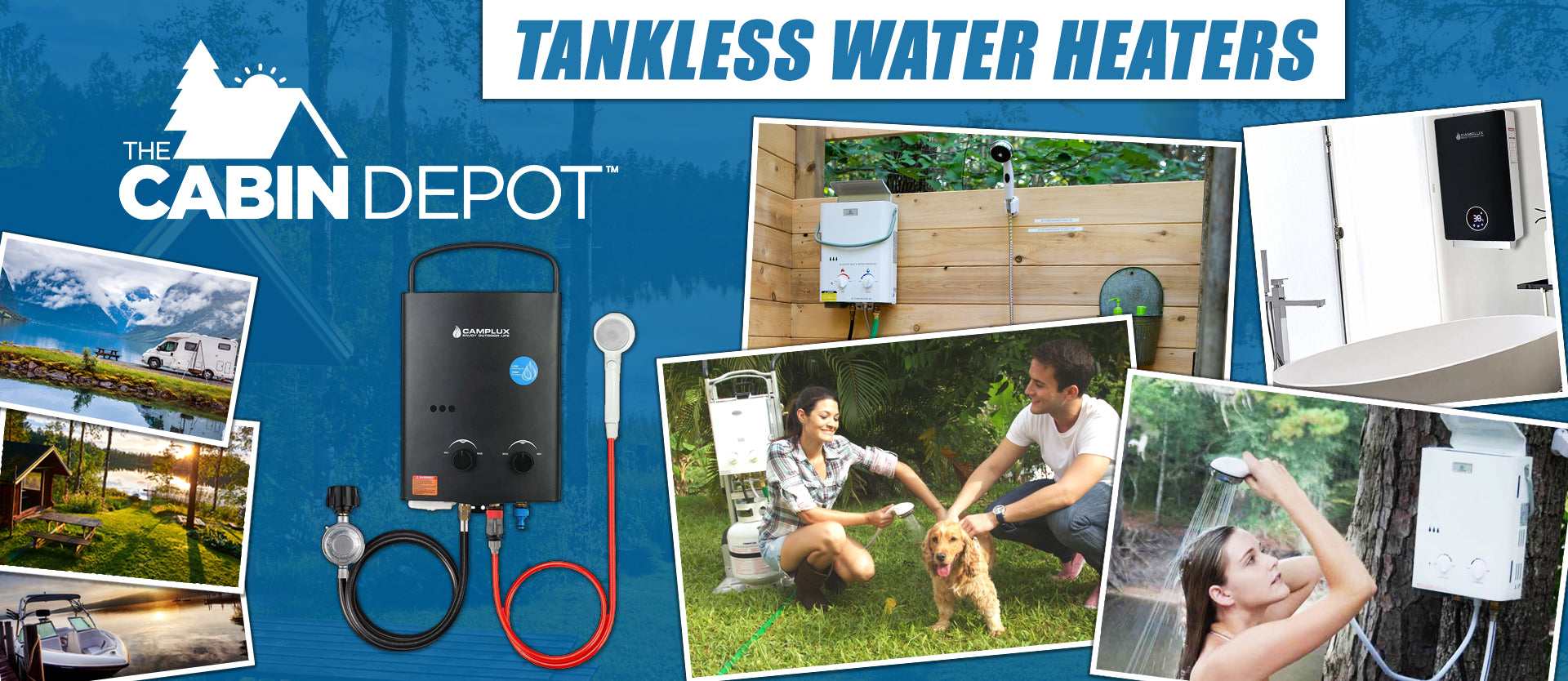 Tankless Water Heaters The Cabin Depot ™ Canada