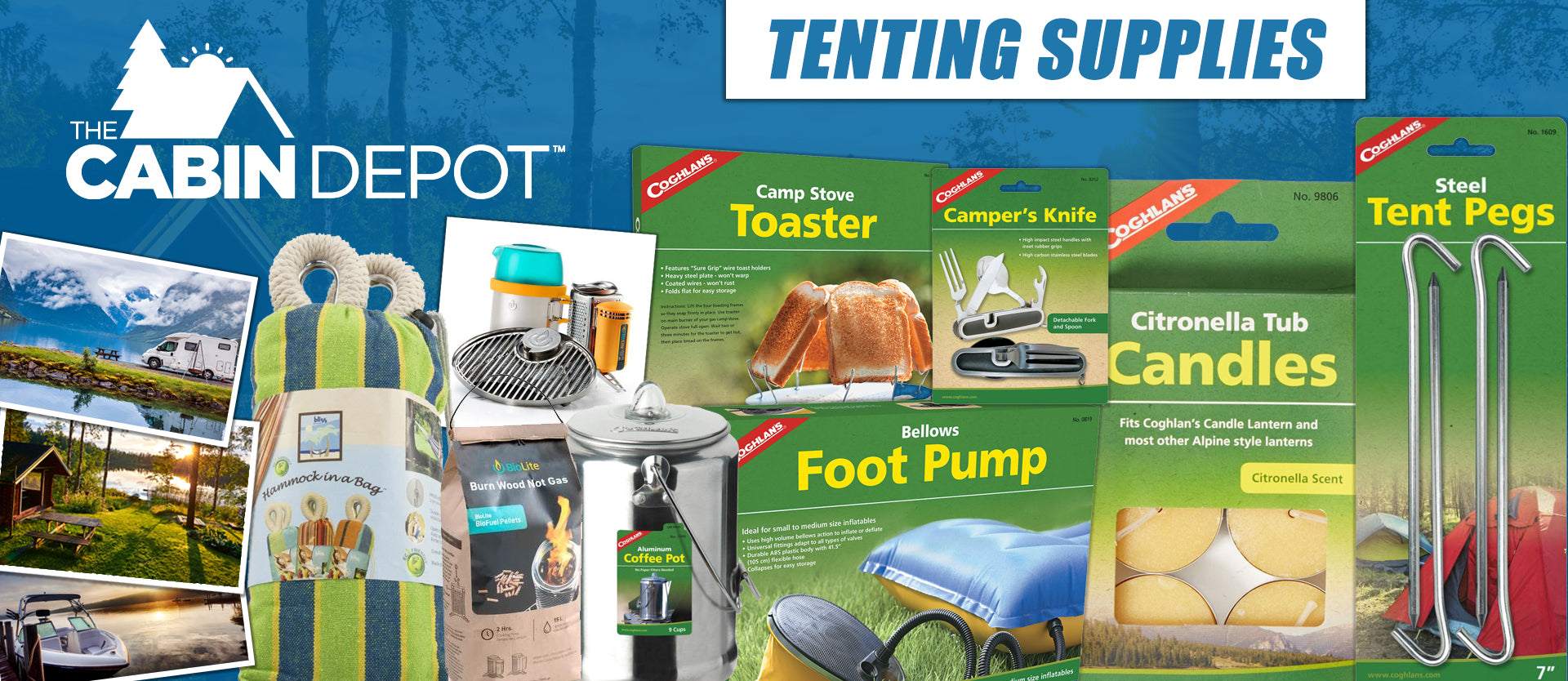 Tenting Supplies Camping The Cabin Depot ™ Canada