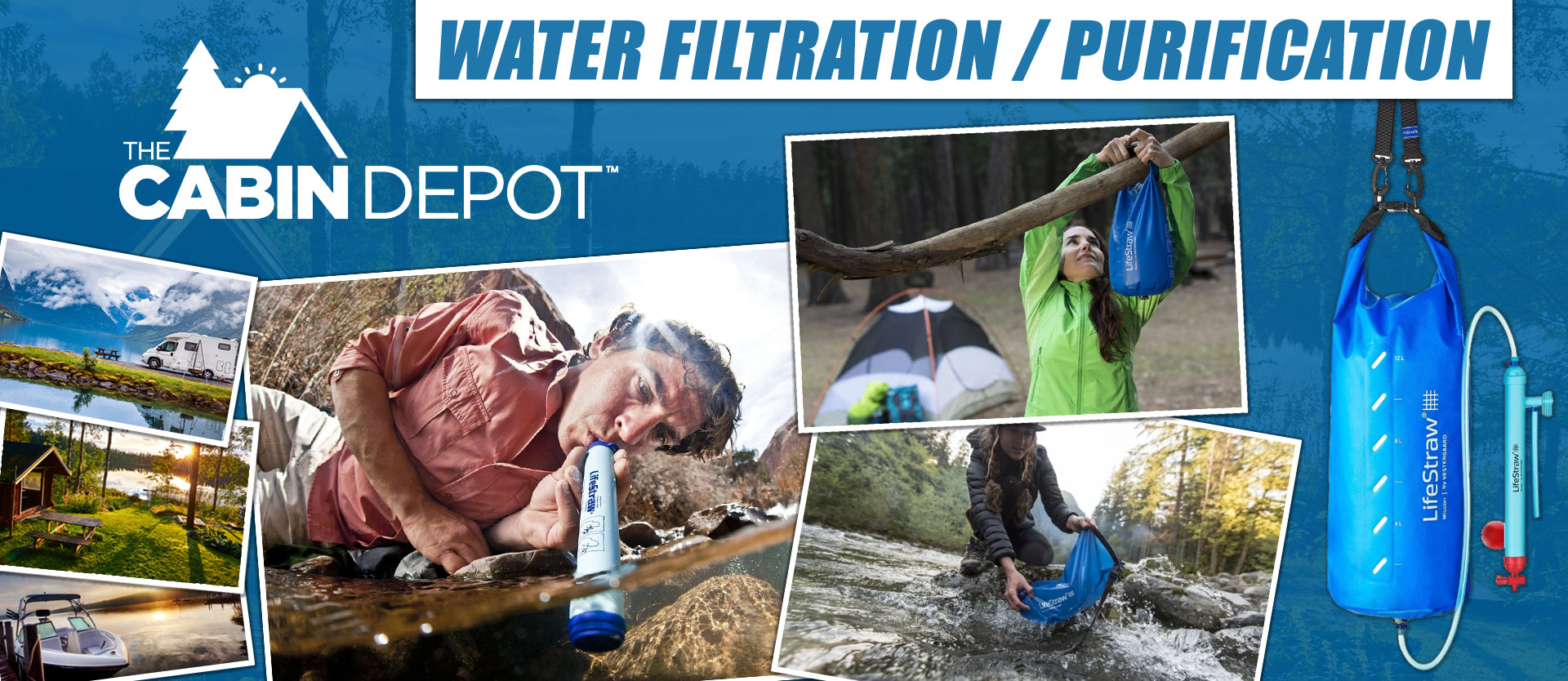 Water Filtration Purification The Cabin Depot ™ Canada