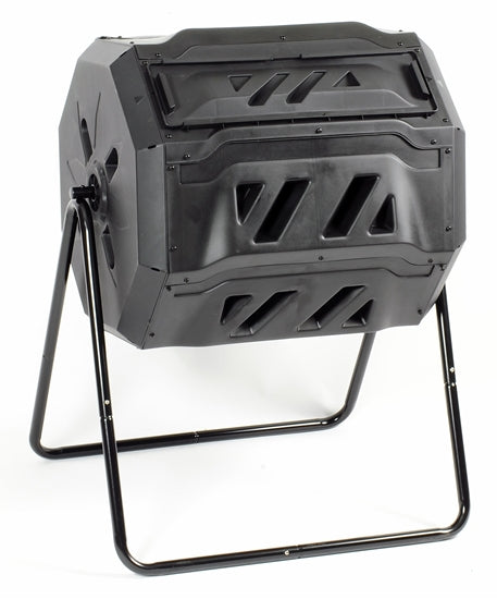 2 Chamber Rotary Composter 42 Gallon