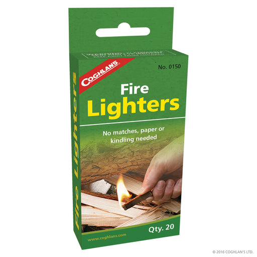 Coghlans Fire lighters Camping / Outdoors Coghlans- The Cabin Depot Off-Grid Off Grid Living Solutions Cabin Cottage Camp Solar Panel Water Heater Hunting Fishing Boats RVs Outdoors