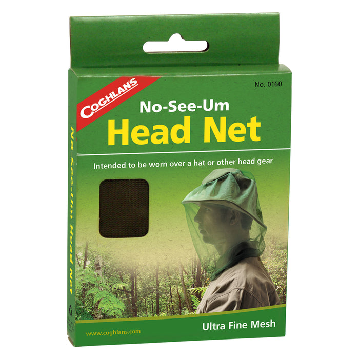 Coghlans Head Net No-See-Um Accessories Coghlans- The Cabin Depot Off-Grid Off Grid Living Solutions Cabin Cottage Camp Solar Panel Water Heater Hunting Fishing Boats RVs Outdoors