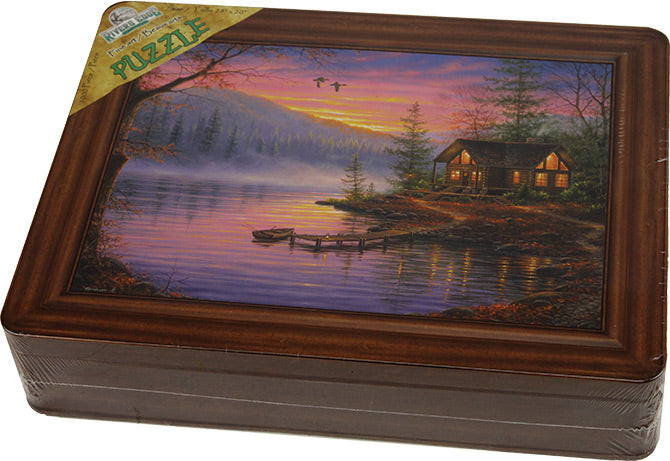 Puzzle in Embossed Collector Tin