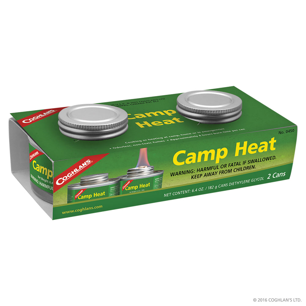 Coghlans Camp Heat Camping / Outdoors Coghlans- The Cabin Depot Off-Grid Off Grid Living Solutions Cabin Cottage Camp Solar Panel Water Heater Hunting Fishing Boats RVs Outdoors