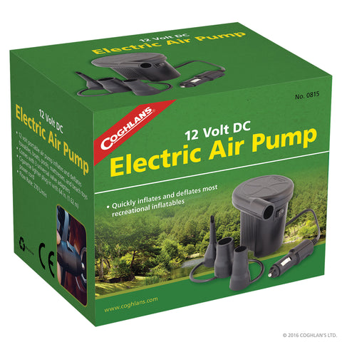 Coghlans Electric 12V Air Pump