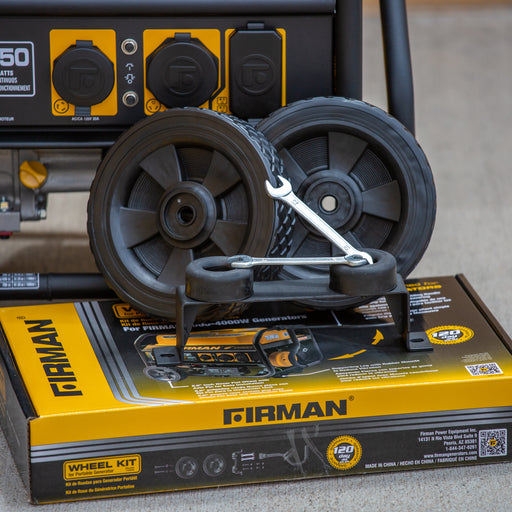 Firman Wheel Kit Fits the Medium Wattage Generators 3000 – 4900 Watts 1003
