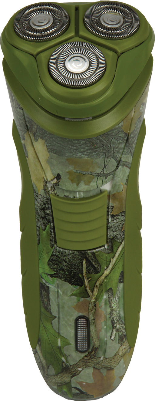 Triple Head Camo Razor Leisure The Cabin Depot- The Cabin Depot Off-Grid Off Grid Living Solutions Cabin Cottage Camp Solar Panel Water Heater Hunting Fishing Boats RVs Outdoors