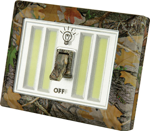 Double Camo Light Switch  The Cabin Depot- The Cabin Depot Off-Grid Off Grid Living Solutions Cabin Cottage Camp Solar Panel Water Heater Hunting Fishing Boats RVs Outdoors