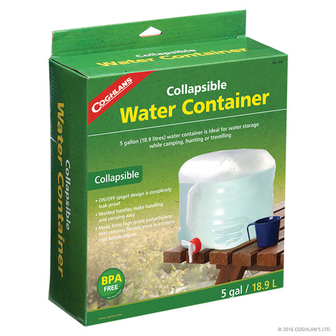 Coghlans Collapsible Water Carrier