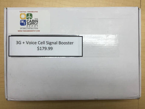TCD - 3G + Voice Cell Signal Booster