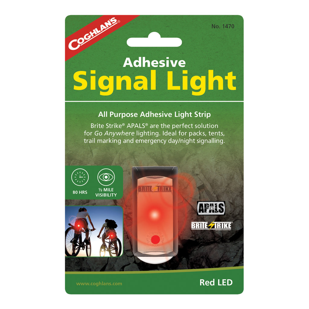 Coghlans Adhesive signal Light- Red