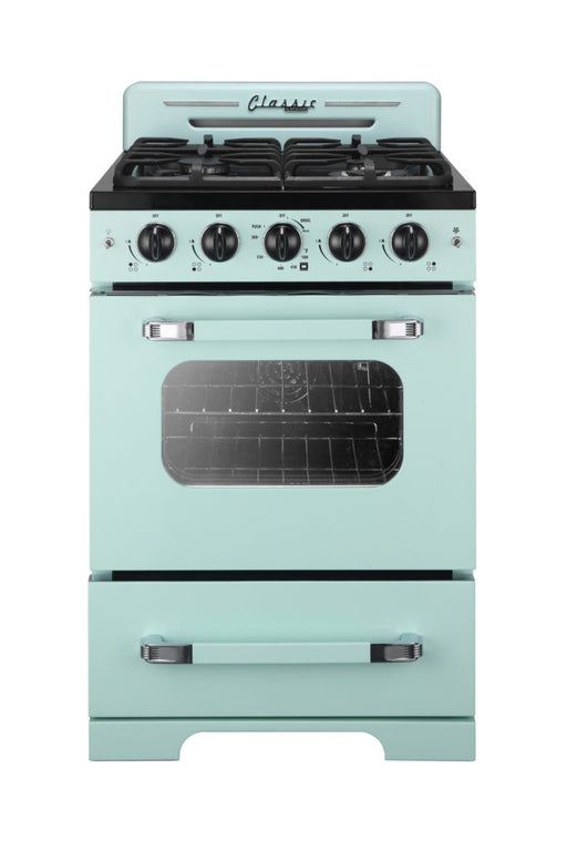 Summer Mint Green Color Convection Gas