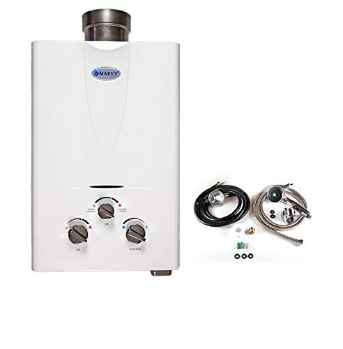 Marey 5L Tankless Water Heater Shower Bundle
