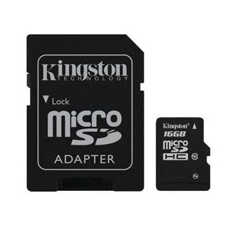 Kingston Class 10 16 gb Micro SDHC Flash Card