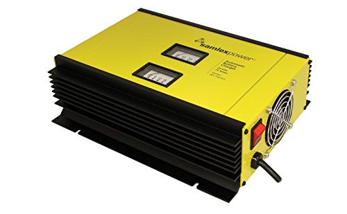 Samlex America SEC-2425UL Battery Charger Alternative Energy Samlex- The Cabin Depot Off-Grid Off Grid Living Solutions Cabin Cottage Camp Solar Panel Water Heater Hunting Fishing Boats RVs Outdoors