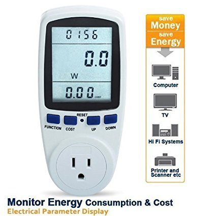 kilowatt - Power Meter (Megapower) Accessories The Cabin Depot- The Cabin Depot Off-Grid Off Grid Living Solutions Cabin Cottage Camp Solar Panel Water Heater Hunting Fishing Boats RVs Outdoors
