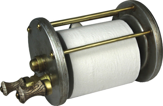 Toilet Paper Holder Leisure The Cabin Depot- The Cabin Depot Off-Grid Off Grid Living Solutions Cabin Cottage Camp Solar Panel Water Heater Hunting Fishing Boats RVs Outdoors