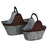 Coal Buckets, Galvanized set of two Leisure Wildlife Creations- The Cabin Depot Off-Grid Off Grid Living Solutions Cabin Cottage Camp Solar Panel Water Heater Hunting Fishing Boats RVs Outdoors