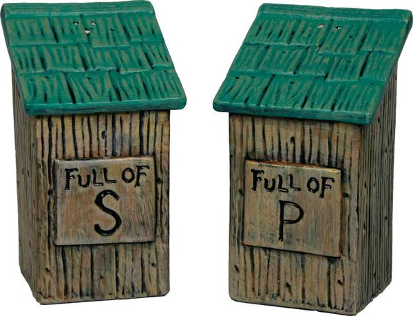 Salt and Pepper Set - Outhouse