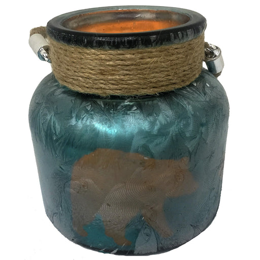 LED Jar Candle Leisure Wildlife Creations- The Cabin Depot Off-Grid Off Grid Living Solutions Cabin Cottage Camp Solar Panel Water Heater Hunting Fishing Boats RVs Outdoors