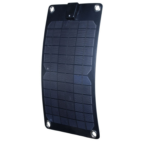 Nature Power 5W Semi Flexible Solar Panel - 12v Alternative Energy Nature Power- The Cabin Depot Off-Grid Off Grid Living Solutions Cabin Cottage Camp Solar Panel Water Heater Hunting Fishing Boats RVs Outdoors