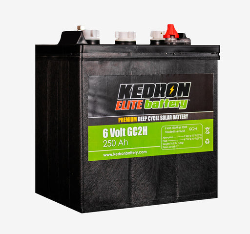 Kedron Elite™ 6v 250Ah Flooded Deep Cycle GC2H *NEW - In Stock!*