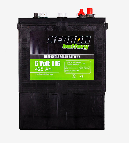 425Ah Deep Cycle Kedron Flooded Acid Battery